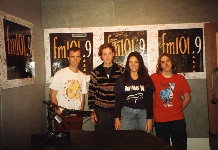 With Ben Folds Five in the KSCA Music Hall